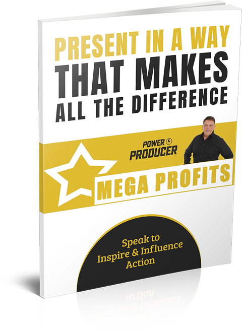 Present in a way that makes all the Difference - Speak to Inspire & Influence Action